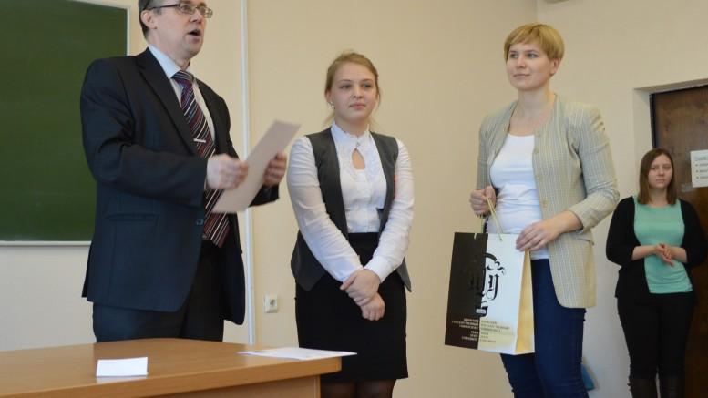 Мальцева Инга - победитель секции Математика